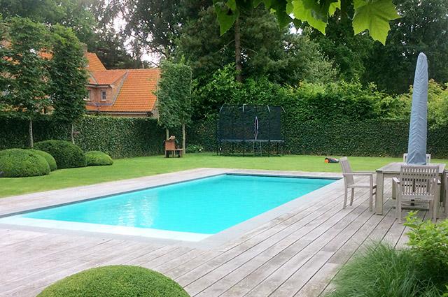 Nieuwbouw zwembad Knokke