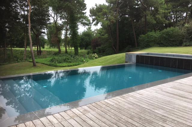 Renovatie zwembad Knokke